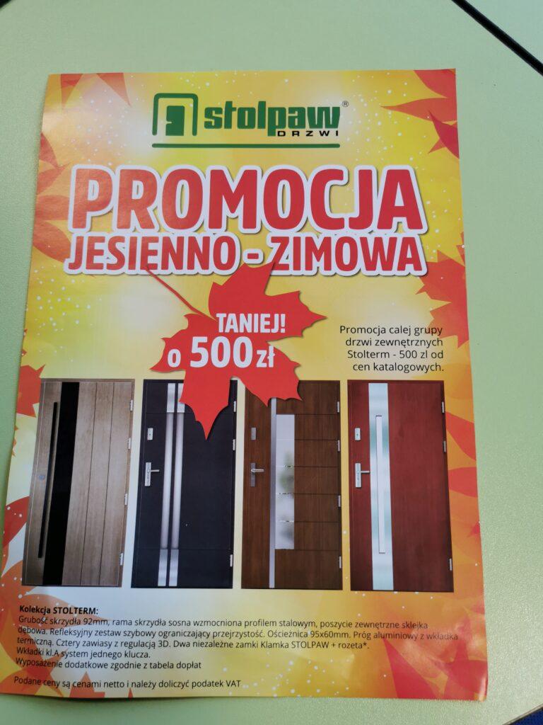 Promocja drzwi Stolpaw